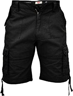 D555 Mens Cargo Shorts Duke King Size Cotton Knee Length Combat Casual Summer