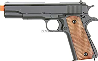 BBTac M21 Airsoft 260 FPS Metal Spring Pistol with Working Hammer and Saftey Grip