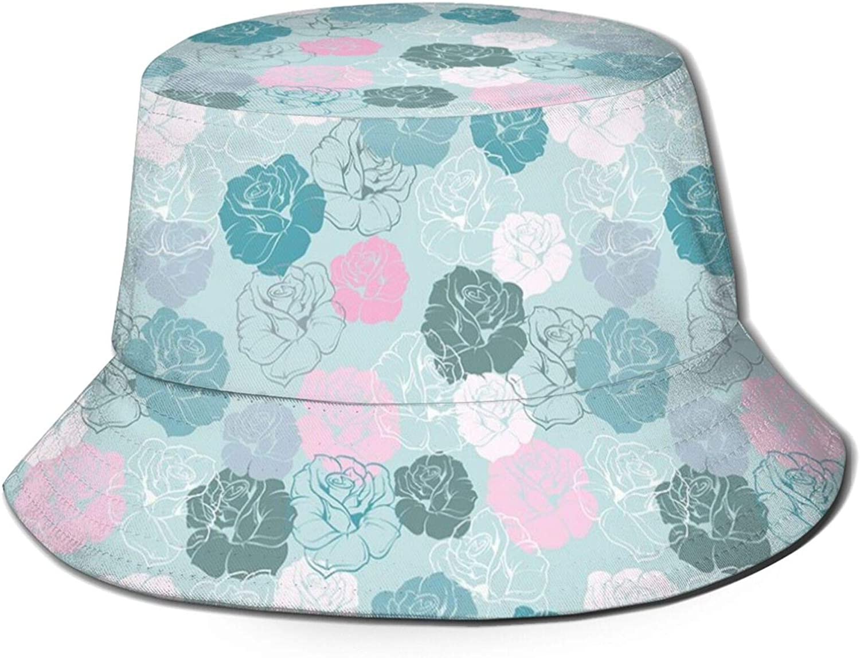 Cotton Packable Summer Travel Beach Sun Hat Bucket New Orleans Mall Outlet sale feature