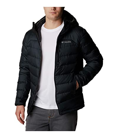 Columbia Big Tall Autumn Parktm Down Hooded Jacket (Black) Men