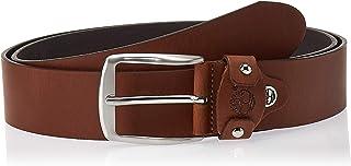 حزام جلدي للرجال من تيمبرلاند، مقاس M بني (كونياك 212) X-Large
