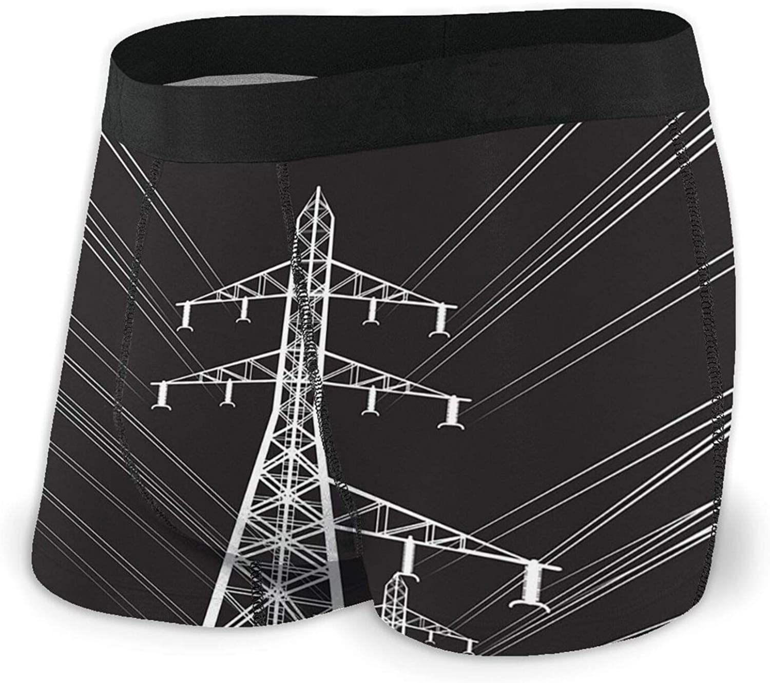 Max lowest price 84% OFF TZT Power Lines Men's Boxer Briefs Breathable Comfortable Underw