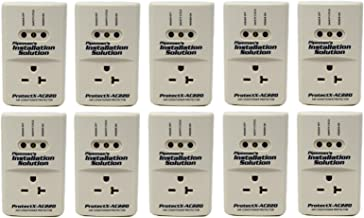 10 Pack AC 220v Surge Brownout Voltage Protector 3600 Watts Freezer (New Model)