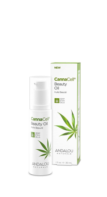 フルーツ平和的コンテンポラリーオーガニック ボタニカル 美容液 美容オイル ナチュラル フルーツ幹細胞 ヘンプ幹細胞 「 CannaCell? ビューティーオイル 」 ANDALOU naturals アンダルー ナチュラルズ