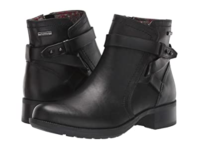 Rockport Copley Strap Waterproof Boot (Black) Women