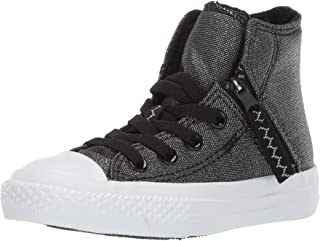 Converse Unisex-Child Chuck Taylor All Star Pull-Zip High Top