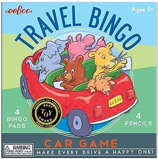 eeBoo Travel Bingo Game for Kids