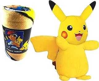 Yellow Species of Pokémon Pikachu Soft Plush 12