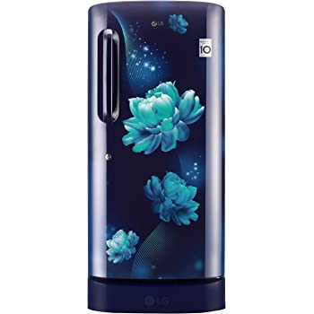 LG 215 L 4 Star Inverter Direct-Cool Single Door Refrigerator (GL-D221ABCY, Blue Charm)