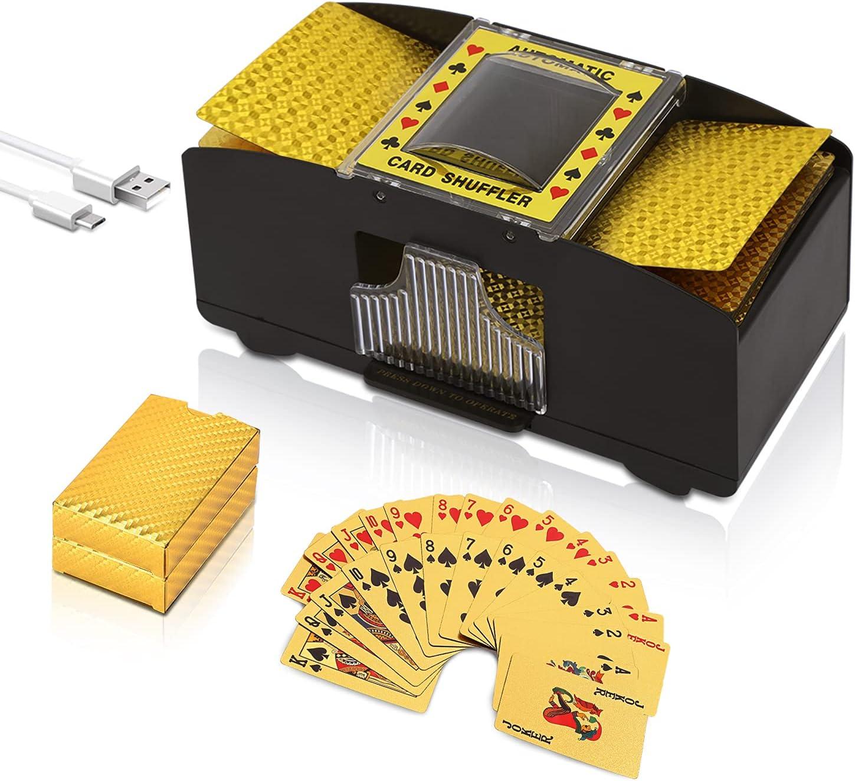 Talent Star Automatic Card Shuffler Detroit Mall Batt 2 Overseas parallel import regular item USB Deck