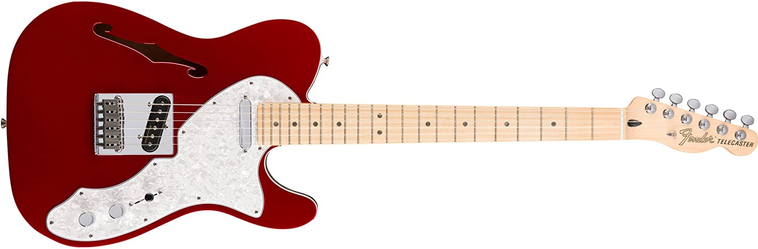 Fender Deluxe Telecaster Thinline Electric Excellent Finger - Max 51% OFF Maple Guitar