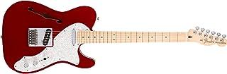 Fender 0147602309 Deluxe Telecaster - Diapasón de arce, color rojo