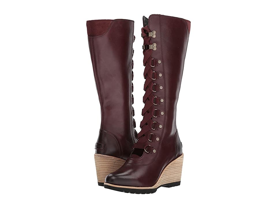 SOREL After Hours No-Tongue Tall (Redwood) Women