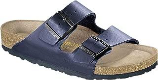 Birkenstock Arizona Navy Birko-Flor Soft Footbed Sandal 35 R (US Women's 4-4.5)