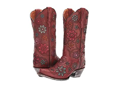 Dan Post Meria (Rust Leather) Cowboy Boots