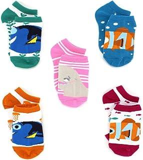 Disney, Finding Dory Nemo - Calcetines para niñas (5 unidades)
