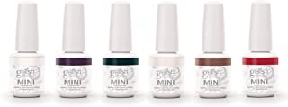 Gelish Mini 6 Color Soak Off Gel Nail Polish Set, Forever Marilyn Collection