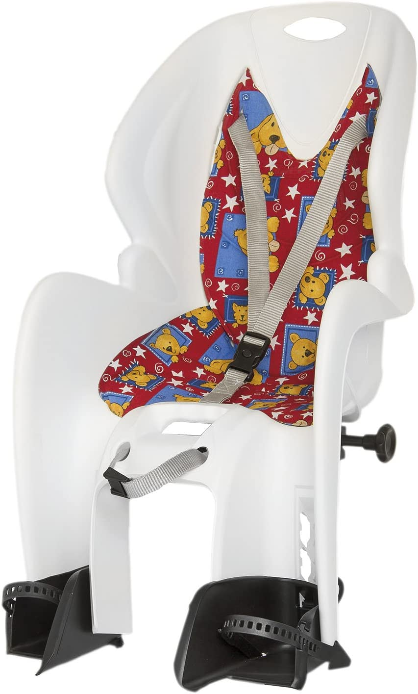 M-Wave Men's Basic Rear Baby Seat-White, 79 cm