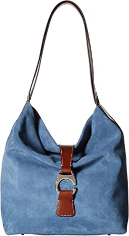 Derby Suede Large Hobo