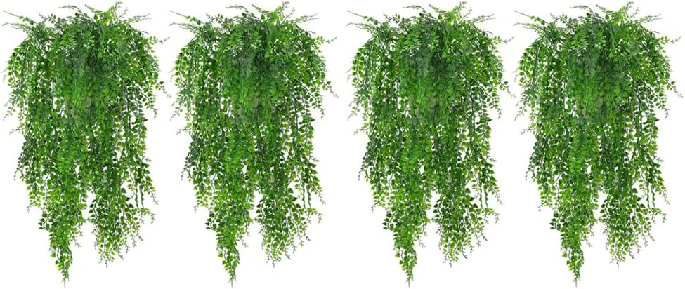 It is very popular Gazechimp 4 Bunches Artificial Weeping Ivy I Max 81% OFF Plants Outdoor Vine
