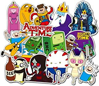 29 Pcs/Pack Adventure Time Animation Stickers Variety Vinyl Car Sticker Motorcycle Bicycle Luggage Decal Graffiti Patches Skateboard Stickers for Laptop Stickers for Kid