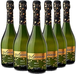 comprar comparacion Don Luciano Brut - Vino Espumoso - Pack de 6 Botellas x 750 ml