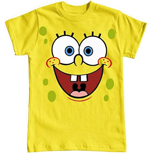 SpongeBob Happy Face 4 16 Youth Unisex T Shirt