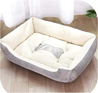 Old street Soft Dog Beds Warm Lounger Sofa for Small Large Dogs Golden Retriever Bed Husky Kennel Cat Nest Puppy Cushion Mat