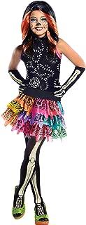Monster High Skelita Calaveras Child's Costume, Medium, As Shown