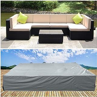 Amazon Com Grey Rattan Patio Furniture Sets Patio Furniture