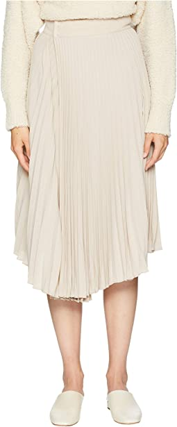 Drape Pleated Skirt