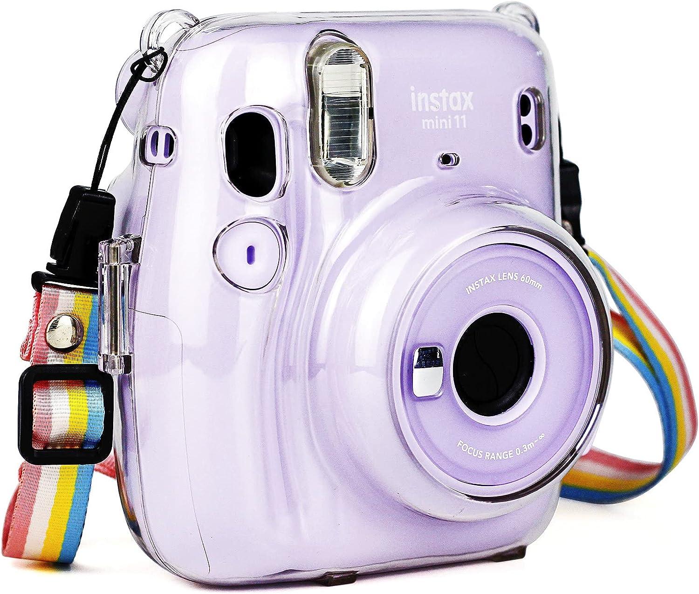 Fudda Clear Case OFFicial shop for Fujifilm Instax Mini Cr Camera - Instant 11 Max 85% OFF