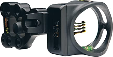 APEX Gear Accu-Strike 4-Pin Sight .019 Bone Collector Black