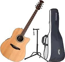 Ovation CS24-4 Celebrity Standard Mid-Depth Natural Acoustic/Electric Guitar wit