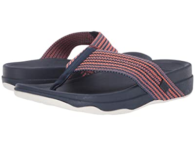 FitFlop Surfer Freshweave (Neon Orange Mix Microwobbleboard) Men