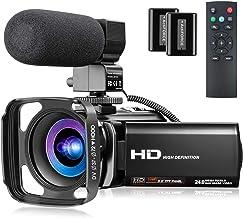 Video Camera Full HD 1080P 30FPS 24MP YouTube Camera...