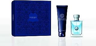 Versace Pour Homme Eau De Toilette 100Ml And Hair & Body Shampoo 150Ml Giftset for Men