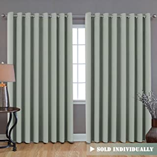 H.VERSAILTEX Ultra Blackout Wider Curtain, Extra Long and Wide Thermal Insulated Large Window Panel (100