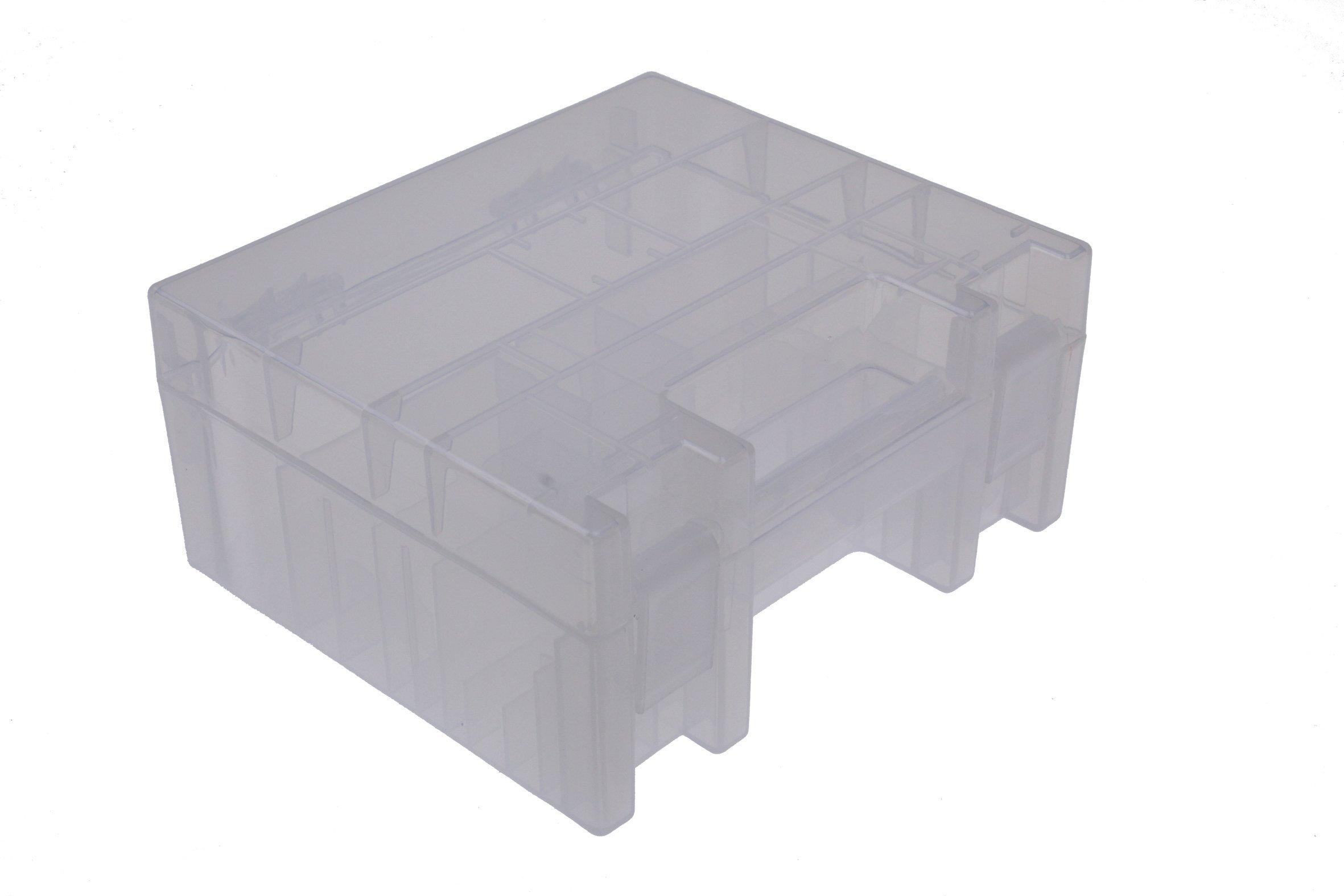 Ansmann Premium Batería Caja para 4 Mignon AA o Micro AAA Baterías y Pilas – Caja para Proteger y Transporte: Amazon.es: Electrónica