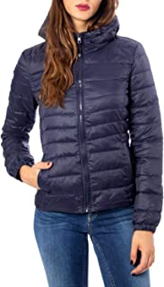 Luxury Fashion | Only Womens 15156569BLUE Blue Down Jacket | Autumn-Winter 19