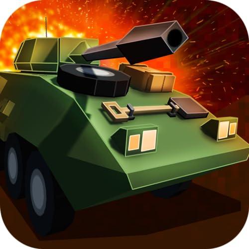 Pixel Tank Wars 3D
