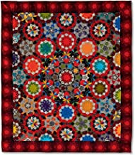 The Can Can Quilt - Millefiori Quilts 3 by Willyne Hammerstein (Oversized 3/8