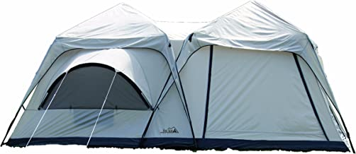 Texsport Twin Peaks Two-Room Cabin Dome Tent
