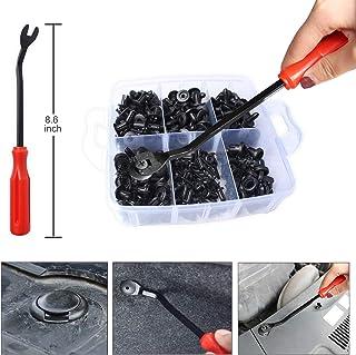 BYGD 300 peças de clipes de retentor de carro e prendedores automáticos - 12 tamanhos mais populares de nylon para para-ch...