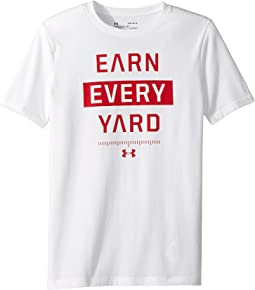 Earn Every Yard Short Sleeve Tee (Big Kids)