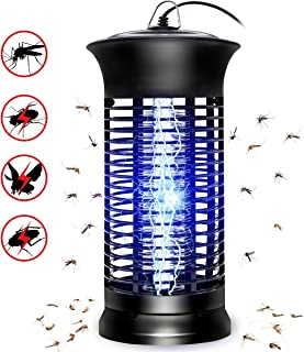 Bug Zapper Mosquito Killer - Flying Insect Killer Indoor - Fly Traps Mosquito Lamp Insect Zappers Mosquito Attractant Trap with Hook for Indoor Patio Garden