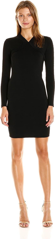 Shoshanna Womens Lena Knit Dress Dress