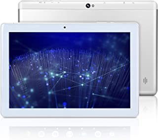 10 inch Android WiFi Tablet, Android 9.0 Pie, GMS Certified, Quad Core 64 bit, 2GB RAM, 32GB Storage, IPS HD Display, Bluetooth, GPS