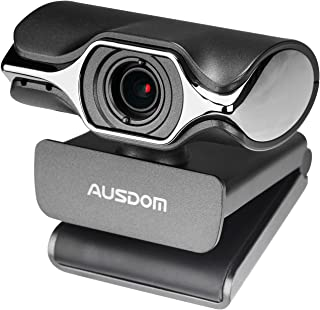 Webcam Full HD 1080P OBS Live Streaming Camera Computer Video Calling and Recording PC Web Camera Built-in Microphone for YouTube or Twitch