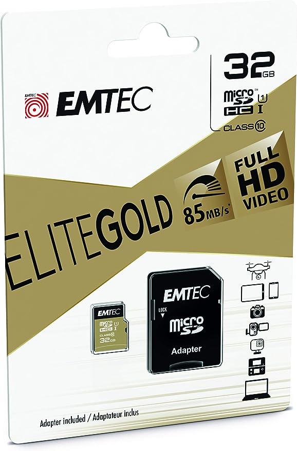 Emtec Gold Microsdhc 32 Gb Bis Zu 21mb Computer Zubehör